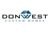 don west custom homes logo