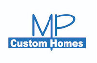 mp custom homes logo